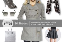 Trend We Love: Grey / This season, grey matters. Add it to your closet for a cool look.