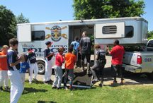 LMPD Visits Portland Little League / LMPD's 1st Division Resource Officers & LMPD Specialty Units participated in a Portland Little League event June 11, 2016.