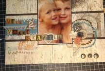 Layout scrapbook made by me