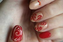 Nehty - Nails / Natural nails, gel polish, painting art, acrylic art
