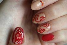 Nehty - Nails / Natural nails, gel polish, painting art, acrylic art