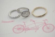engagement rings / by Kimberly Bonnett