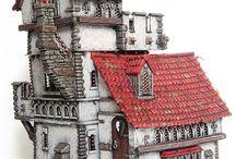 Miniatures : Dioramas & Dungeons / Ibid.