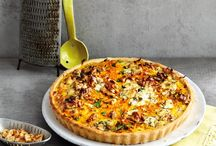 Tarte, Quiche, Pizza