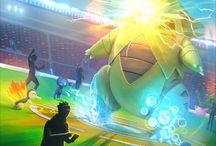 Pokemon Go / Promotional artwork, screenshots, advertisement posters and other cool #PokemonGo stuff. More information on #Pokemon Go @ http://www.pokemondungeon.com/pokemon-go