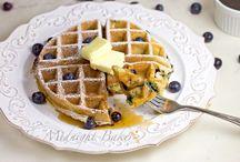 Breakfast French Toast and Waffle Recipes / by Kristin Thomas