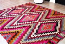 kilim rug / by Helen Wisbey