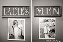 wedding toilets