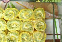 Rotolo di frittata e zucchine