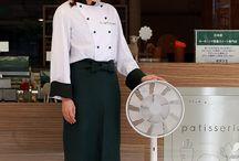 パティスリー ポタジエ × バルミューダ / 東京中目黒にあるパティスリー ポタジエのイートインスペースにも、GreenFan Japanが導入されています。野菜スイーツの火付け役として知られるパティスリー ポタジエは、おいしくて、からだにやさしいスイーツをコンセプトにした世界初の野菜スイーツ専門店。