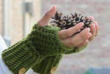 Haken; handschoenen