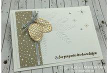 Weihnachtskarten Zapfen