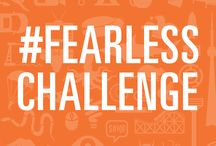 Fearless Challenge / What if we could take the fear out of cancer by facing our own fears for money? Welcome to the Fearless Challenge - where you pledge to overcome your fear, no matter how big or small, for a dollar amount YOU decide. Tell everyone you know (even some you don't). Then once you reach your dollar amount, complete your challenge and post it online for everyone to see.   http://fearlesschallenge.com/