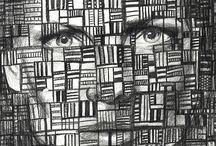Pencil Faces and Patterns Martha Williams