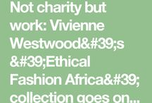 Ethical Fashion / Changing your shopping habits can be hard if you don't have alternative options - this is where you find them :)