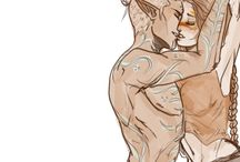 Dragon Age / All the ships! A little FenHawke heavy