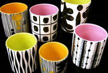 pinch pots etc / ceramics