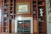 Custom Cabinets / Custom cabinets for kitchens, bathrooms, family rooms, entertainment centers, libraries and kids' rooms.