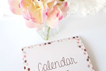 Plan it! Organize it! / Planner and Organize your space