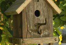 Vogel huisjes / bird houses