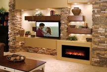 Awkward Fireplace