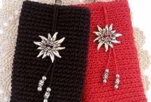 Virkkaus: Laukut ja pussukat / Crochet: Bags and purses