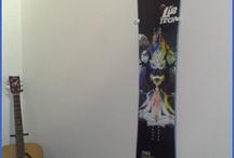 Snowboard decoration / Boarddock - Wallmount / by Boarddock