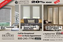 Sales / Current Window Covering Promotions