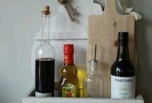 Keuken / Bakje olie en azijn