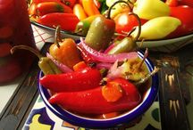 "Escabeche~Pickling / Quick Pickling for Chile Peppers and other Veggies / by Sonia ~ ""La Piña En La Cocina""~"