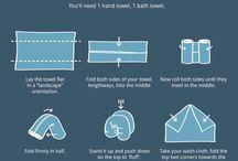 towel folding