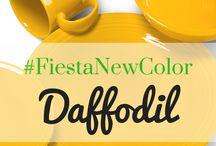 Daffodil / Fiesta Dinnerware's new color for 2017 - Daffodil!