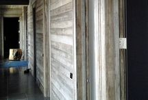 Wood Panelling / Ranging from basic panelling to 3D panels and wainscoting, we are able to manufacture whatever your heart desires!  If you are looking for an 80 year old barn wood look in a dark rich brown or grey color, ThermalWood Canada has developed a new product with larch using a combination of their heat treatment technology and a proprietary aging process that gives the wood a distressed appeal. #woodpaneling #woodpanels #woodsiding #exteriorsiding