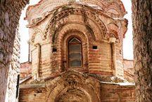 Byzantine Churches in Greece.