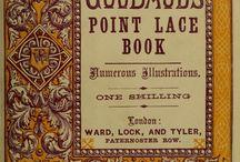 Ink& Lace Books / Books on art, pattern, lace making, crochet knitting , etc...