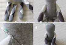 Toys - crochet, knit & sewn