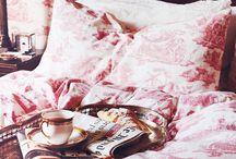 Toile de Jouy / toile de jouy, obrazki z życia francuskiej wsi, francuska tkanina
