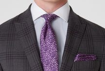 Tailored Men's Suits / Our suits are designed using luxurious fabrics from the world's best mills. Visit www.clementsandchurch.co.uk/clothing/suits