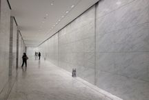 Lobbies and public spaces in marble / The beauty and elegance of MGI's Caldia marble at its best