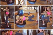 Bosu exercises / by Meghan DeMariano