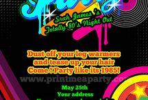 80s Neon Party