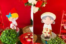 tema festa  chapéuzinho vermelho