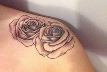 Tatouages de rose
