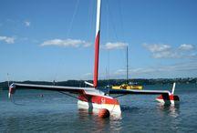 trimaran catamaran