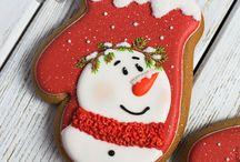 Very merry christmas bakery