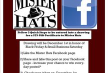 Mister Hats Promotions / The newest and freshest Mister Hats Promotions!!
