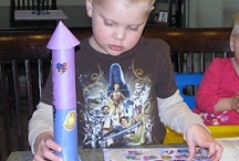 Crafts to Get Your Imagination Fired Up / Super fun crafts to do with children, or on your own. All of these are things I've either done or plan to do to kickstart my creativity and writing, or my kids', even when none of us are actually writing...