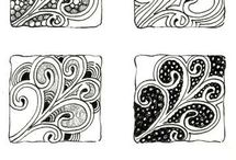 zentangle drawings