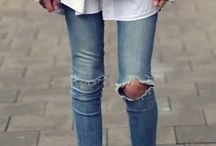 denim distressed