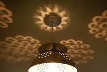 Ceiling light shafes